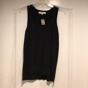Brand new with tags black Loft sweater tank